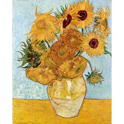 Van Gogh Vase With Twelve Sunflowers