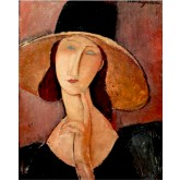 Amedeo Modigliani Portrait of Woman in Hat