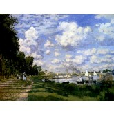 Claude Monet The Marina at Argenteuil