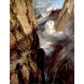 J. M. W. Turner The Pass of St. Gotthard, Switzerland