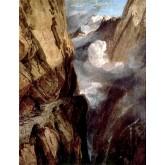 J. M. W. Turner The Pass of St. Gotthard, Switzerland