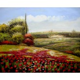 Red Flowers Field 1