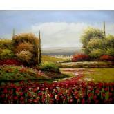 Red Flowers Field 2