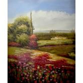 Red Flowers Field 3