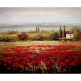 Red Flowers Field 4