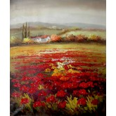 Red Flowers Field 5