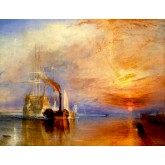 J. M. W. Turner The Fighting 'Temeraire' tugged to her last Berth to be broken up