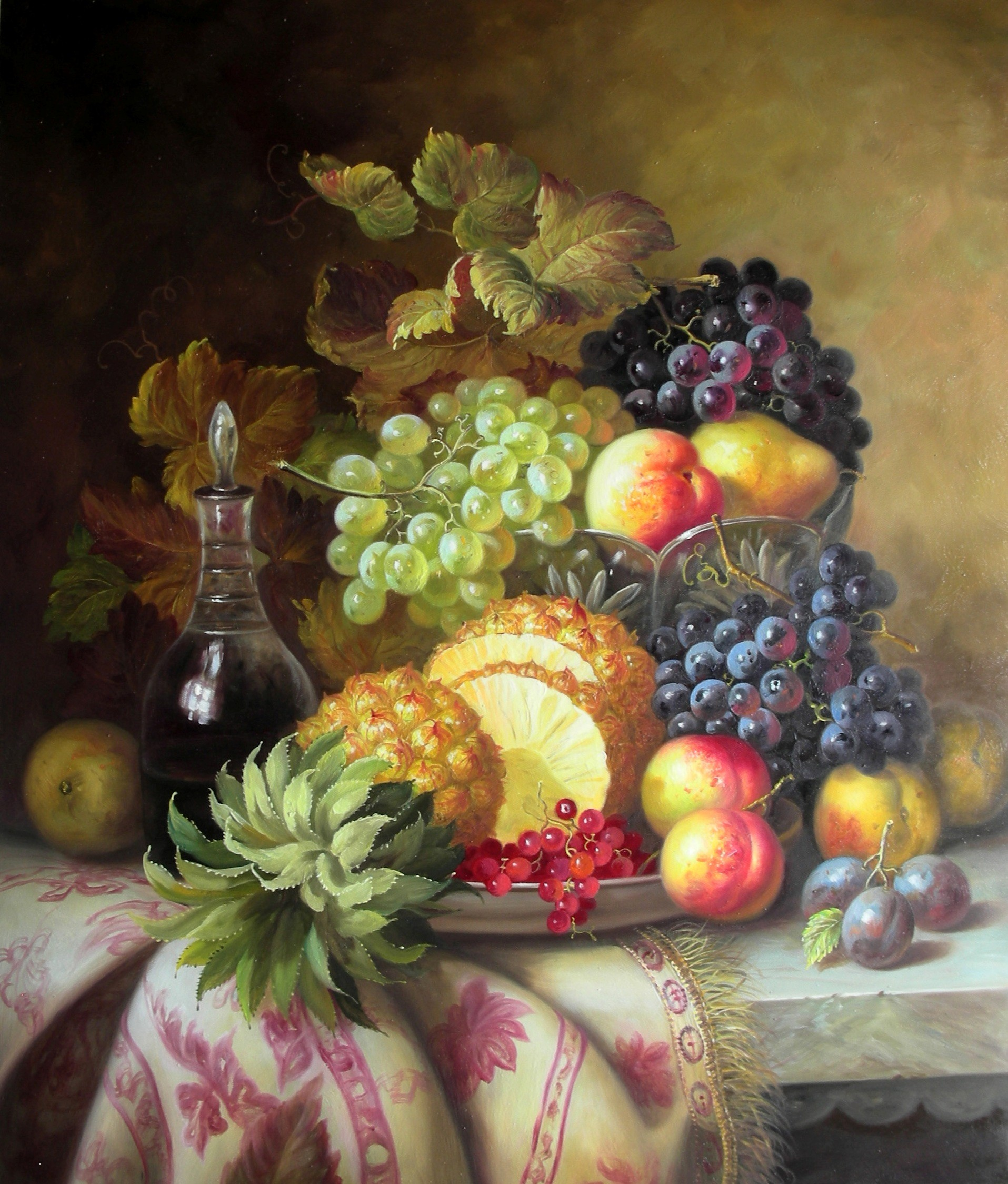 Fruits On A Table II (artwork for home )
