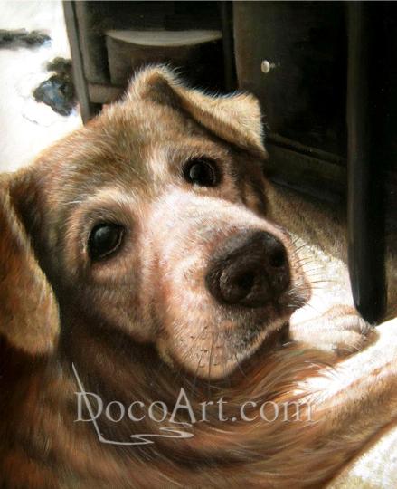Custom Dog Art In Your Interior