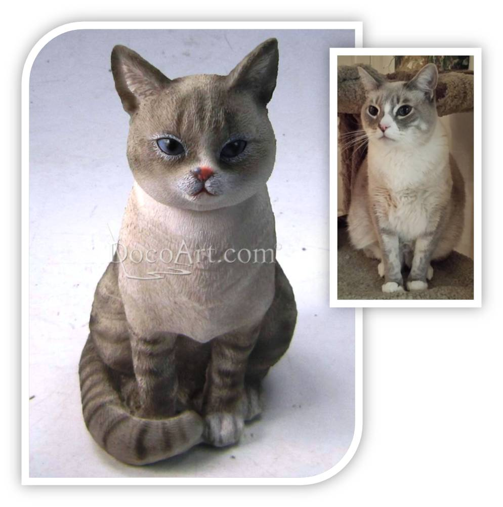 Order a miniature figurine of your cat!