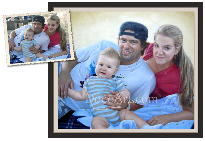 How To Make a Nice Family Portrait